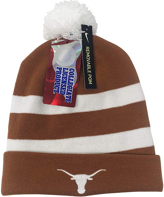 Nike Texas Longhorns NCAA Knit Winter Beanie Hat Snow Hat