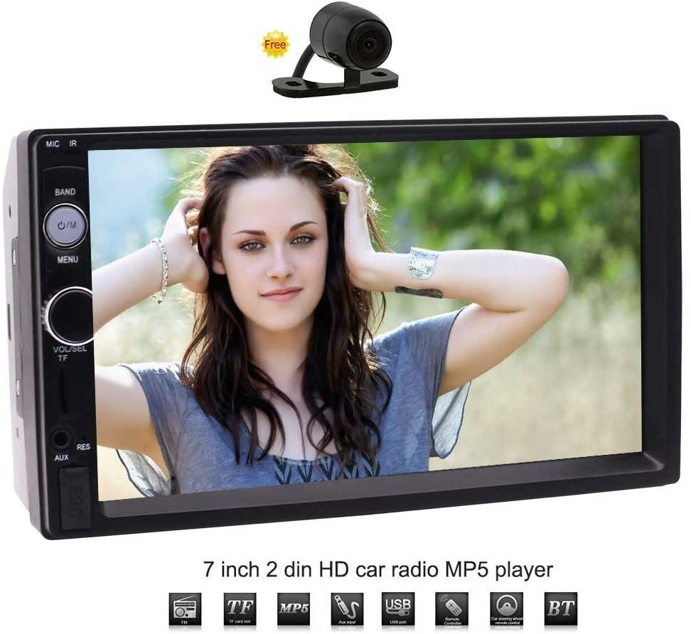 Eincar 2 Din Car Bluetooth Stereo Universal HD 7