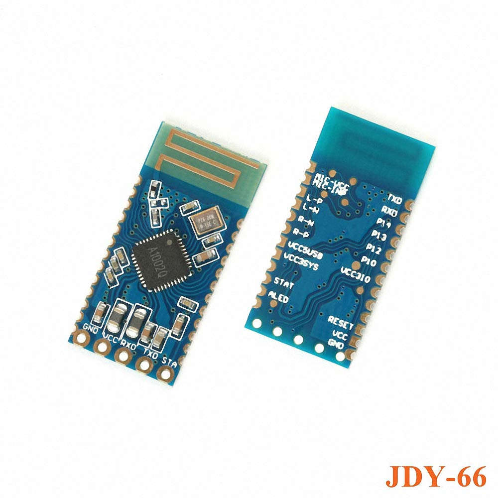 JDY-66 Dual Mode Audio Bluetooth Module Two-Channel Stereo Playing BLE Bluetooth Data Transmission DIY Electronic