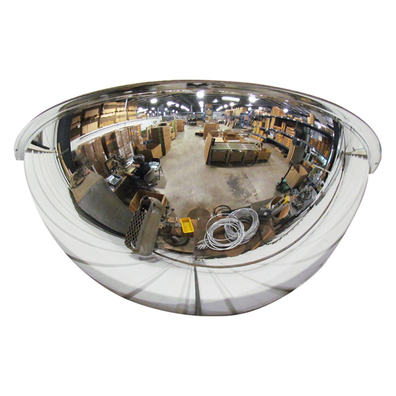 Se-Kure Domes & Mirrors ONV-180-18 Half Dome Mirror, 18