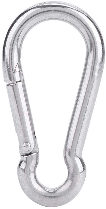 Liukouu Carabiner, 316 Stainless Steel Snap Hook, Practical for Hiking Camping Outdoor Recreation Outdoor Accessories