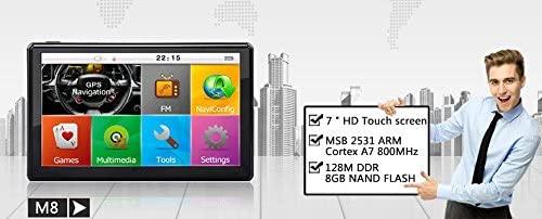 GPs 4.3 Inch TFT Touch Screen Navigator Hi-Fi Speaker Video, Music Photo Player