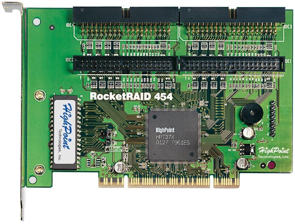 High Point 454 4-Channel PCI ATA RAID Controller