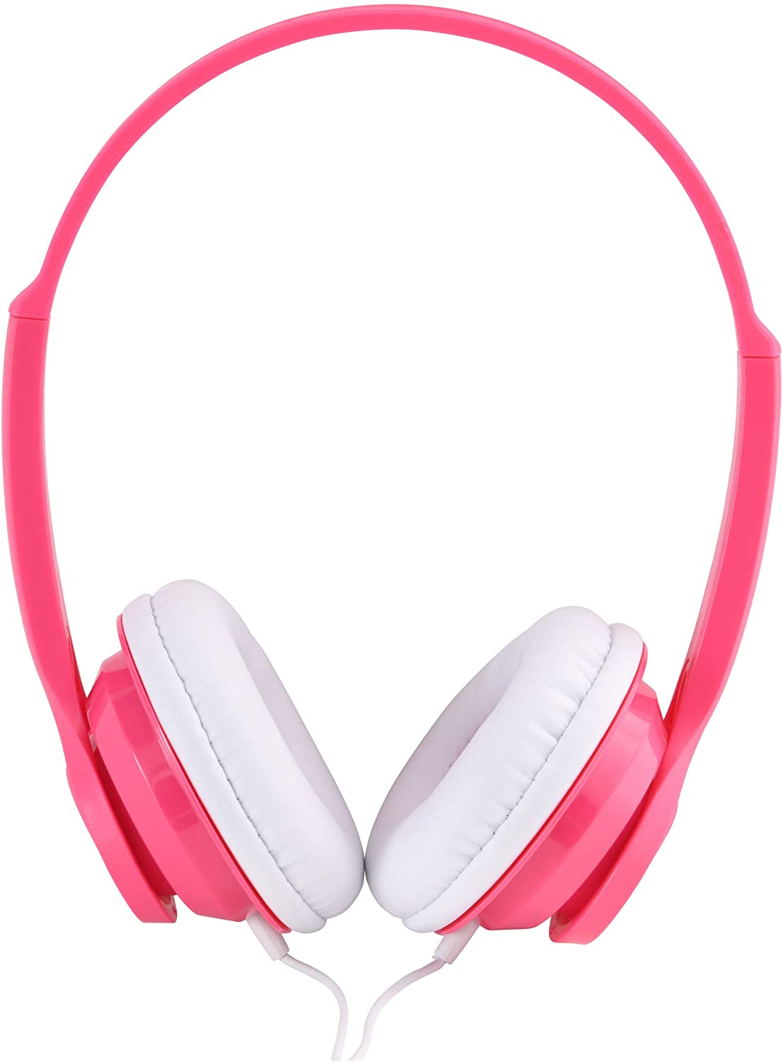 On-Ear Headphones for Smartphones, Stereos and Computers Fuchsia Versatile Design - Pink