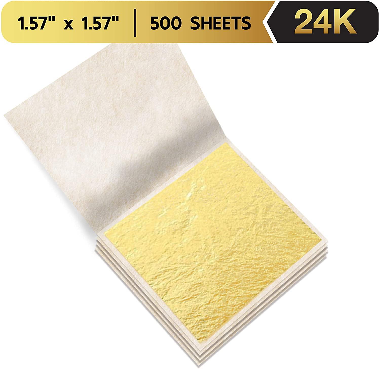 Artiwa Premium Edible Gold Leaf Sheets 1.57