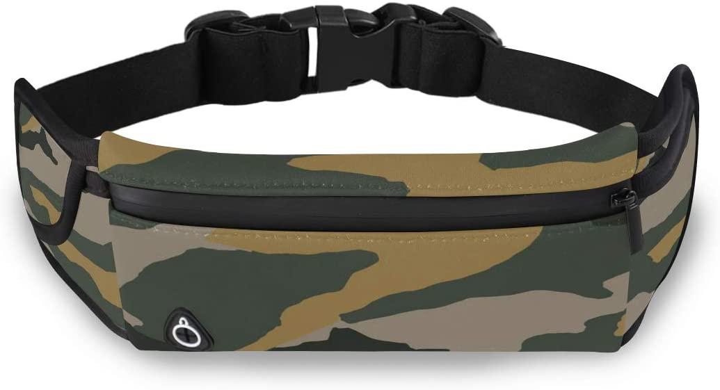Camouflage Protective Military Cool Style Fashion Classic Bag Outdoor Waist Pack Cheap Fashion Bags With Adjustable Strap For Workout Traveling Running