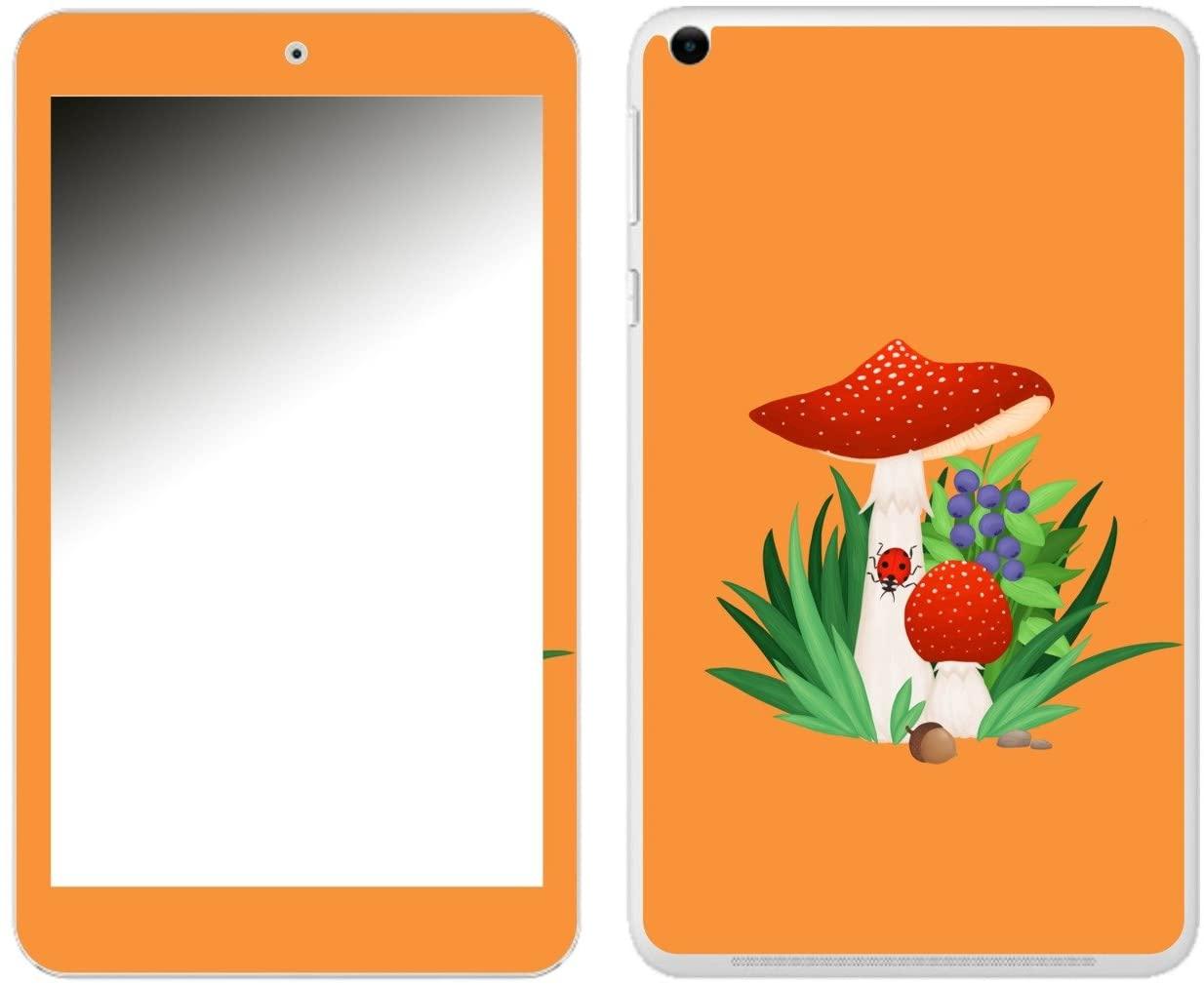 'Disagu SF 106227_ 1197Designer Skin Case Cover for Asus Memo Pad 8–Toadstool 04Klar