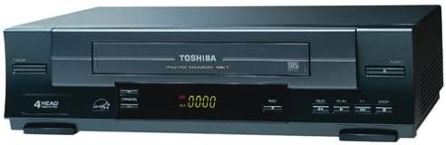 Toshiba W412  4-Head VCR