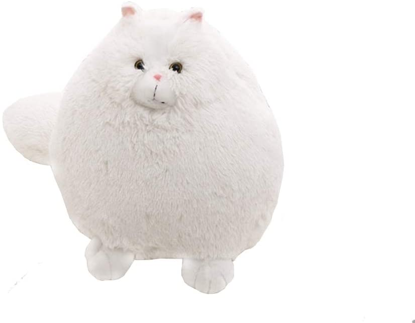 Kinted Plush Toy Persian cat Doll Long Tail White Model Persian cat Doll