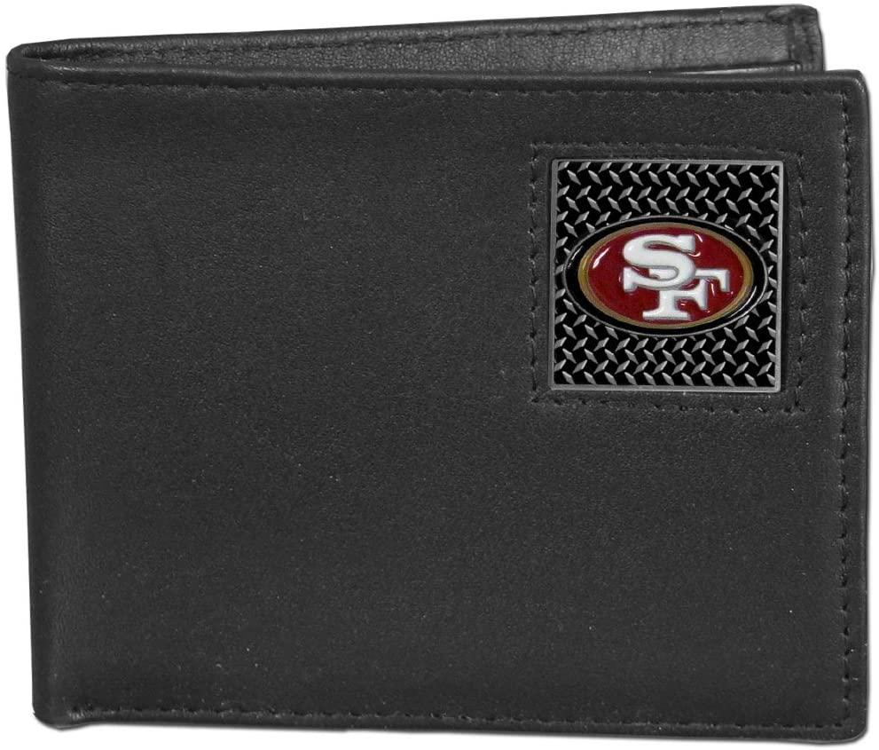NFL San Francisco 49Ers Leather Gridiron Bi-Fold Wallet