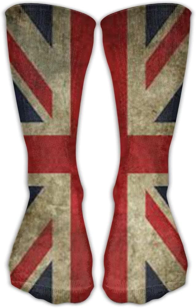 Pin-1 American Flag Athletic Socks Novelty Running Long Sock Cotton Socks