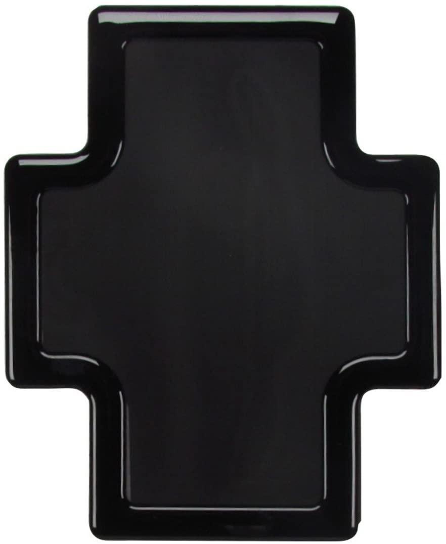DEMCiflex Dust Filter for Corsair Graphite 780T, Rear Filter, Black Frame/Black Mesh