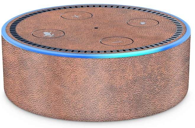 Tan Leather DHgate Echo Dot (2nd Generation) Skin