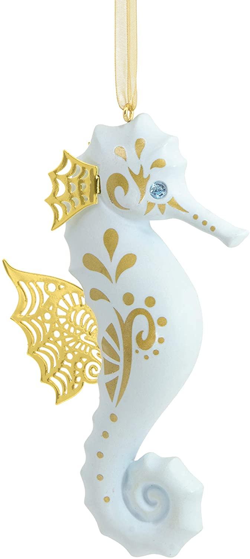 Hallmark Christmas Ornaments, Hallmark Signature Premium Seahorse Ornament