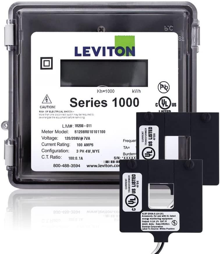 Leviton 1O240-2W, See Image (Renewed)