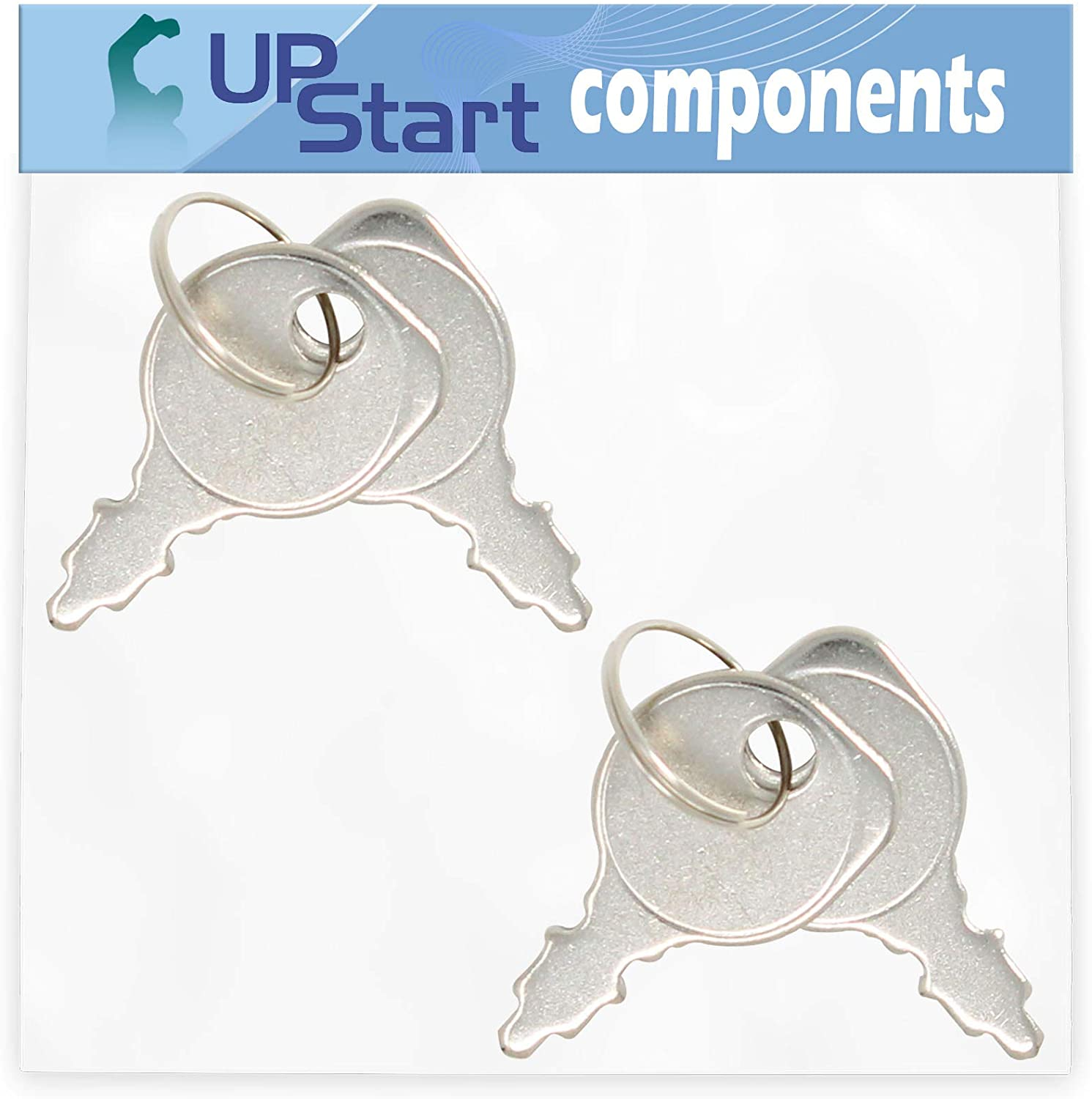 UpStart Components 2-Pack 725-0201 Starter Key Set Replacement for Murray 385044x51A-SW 38