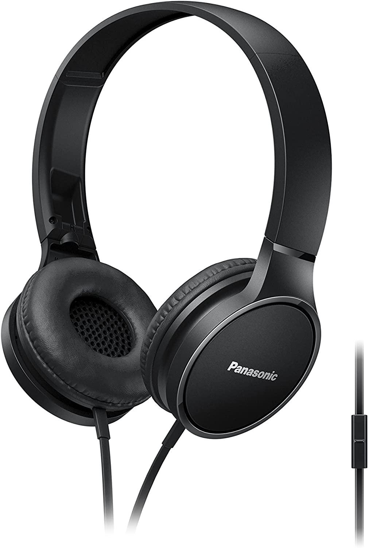 Panasonic RPHF300MEK On-Ear Stereo Headphones - Black