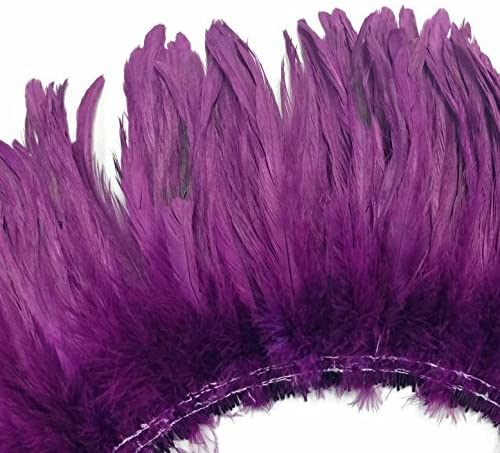 3 Inch Coque Feather Fringe 4
