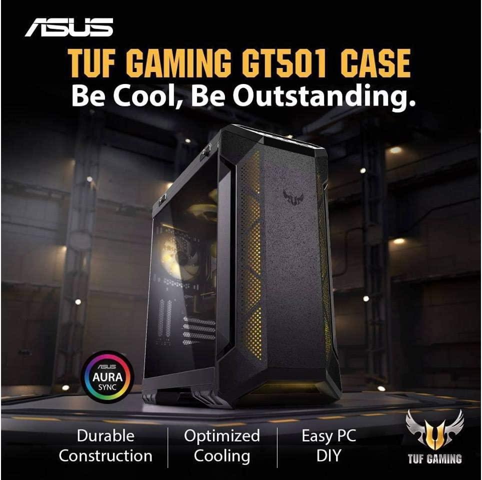 ASUS TUF GT501 Intel 8-Core i7-9700K 3.6GHz - 2TB 7200RPM + 1TB NVMe SSD - 64GB DDR4 SDRAM - GeForce RTX 2080 TI 11GB GDDR6 Graphics - 850W - Windows 10 Gaming Desktop