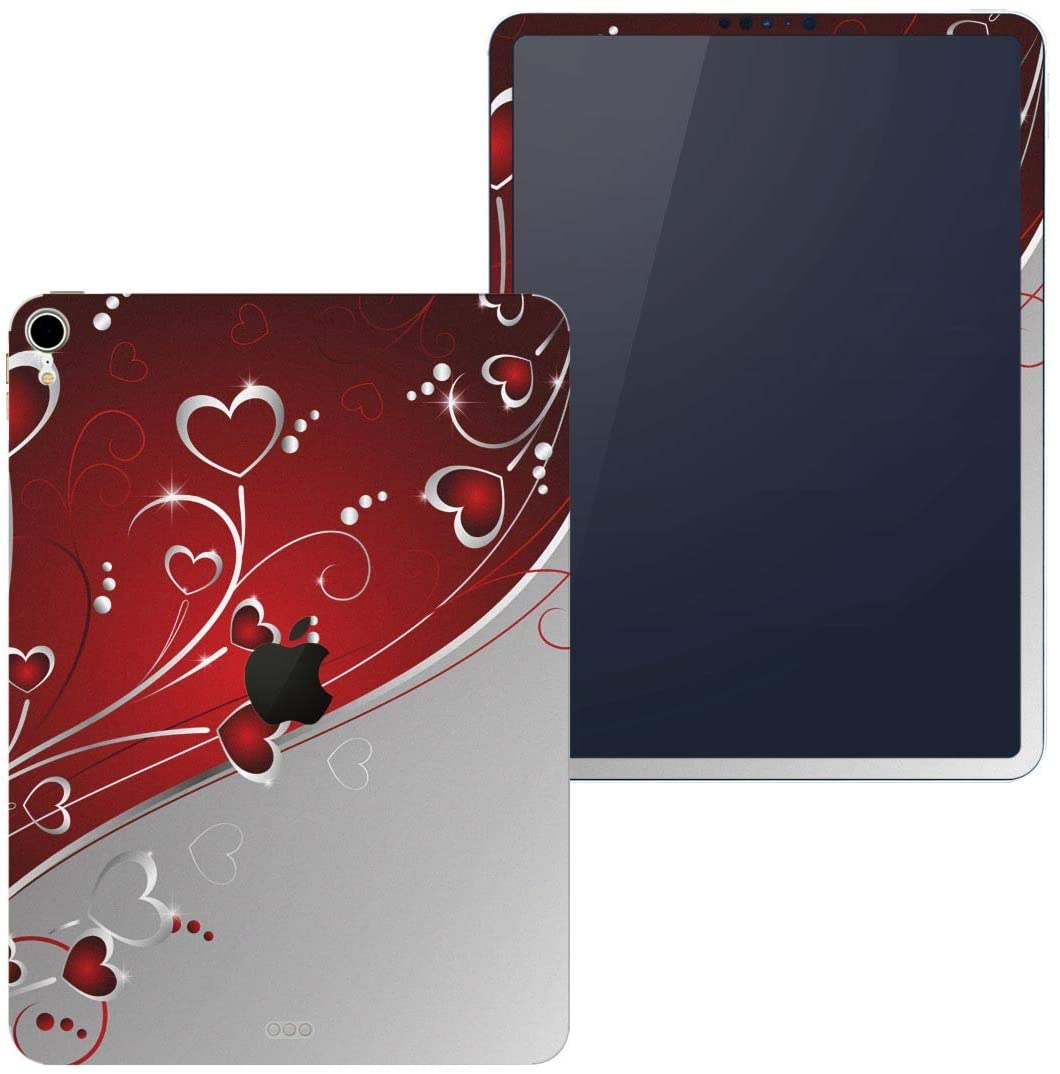 igsticker Skin for Apple iPad Pro 11″ (2018) Ultra Thin Premium Protective Body Stickers (iPad is Not Included) 001167 Heart Pattern