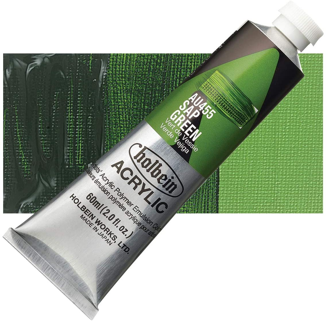 Holbein - Artist Heavy Body Acrylic - 60ml Tube - Sap Green
