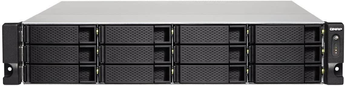QNAP TS-1273U-16G-US 2U 12-Bay NAS/iSCSI IP-SAN,10GbE, Single PSU