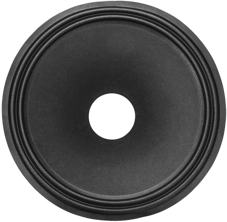 uxcell 12 inches Paper Speaker Cone Subwoofer Drum Dot Paper 2.5 inches Coil Diameter with 2 Cloth Surround