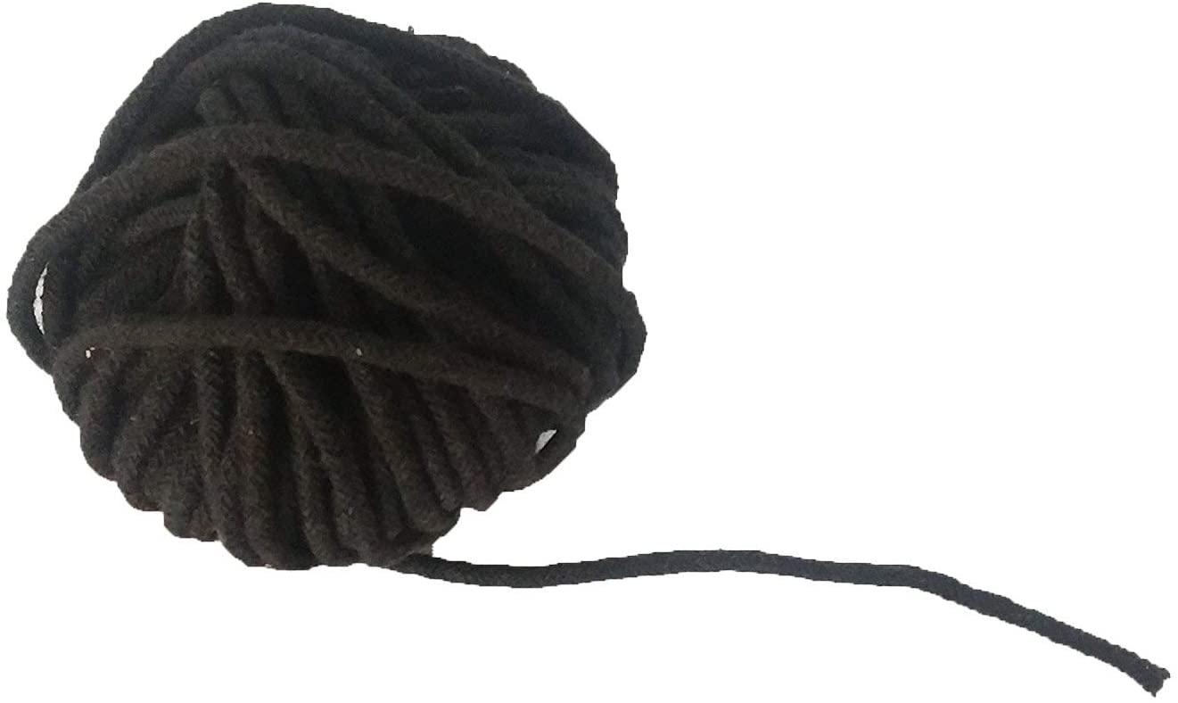 Black Cotton Thread(1 mm Thick)-Kala DHAGA- Nazar -Black String-Kalwa RAKSHA Sutra-Evil Eye Protection THREAD-30 Meters,Valentine Day Gifts (Black Cotton)