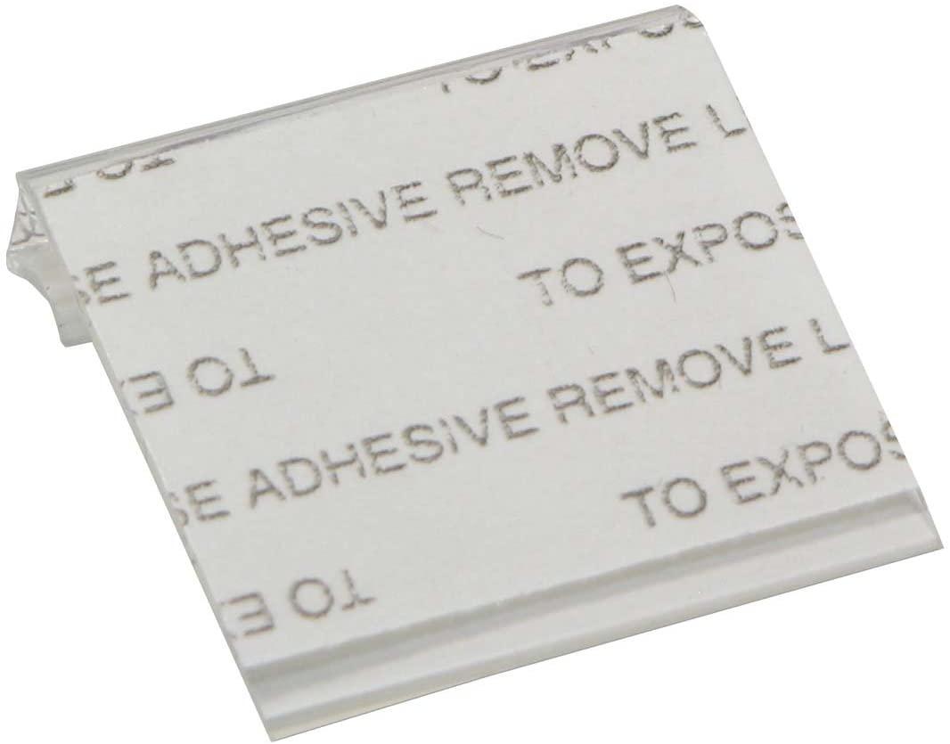 Self-Adhesive Earring Card Adapter 1x1 (100-Pcs) Jewelry Display