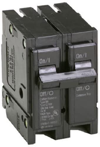 Eaton Corporation Br2100 Double Pole Interchangeable Circuit Breaker, 120/240V, 100-Amp