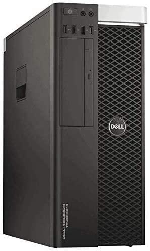 Dell Precision T5810 Workstation E5-1620 V3 3.6GHz 4-Core 64GB DDR4 Quadro 600 480GB SSD + 1TB HDD Win 10 Pro (Renewed)