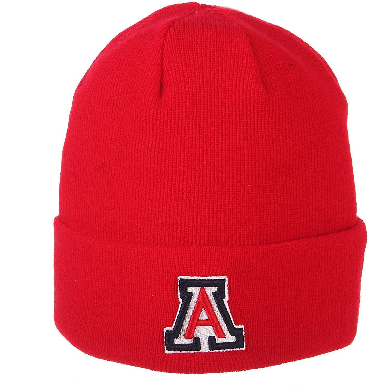 ZHATS Arizona Wildcats Red Cuff POP Beanie Hat - NCAA Cuffed Winter Knit Toque Cap