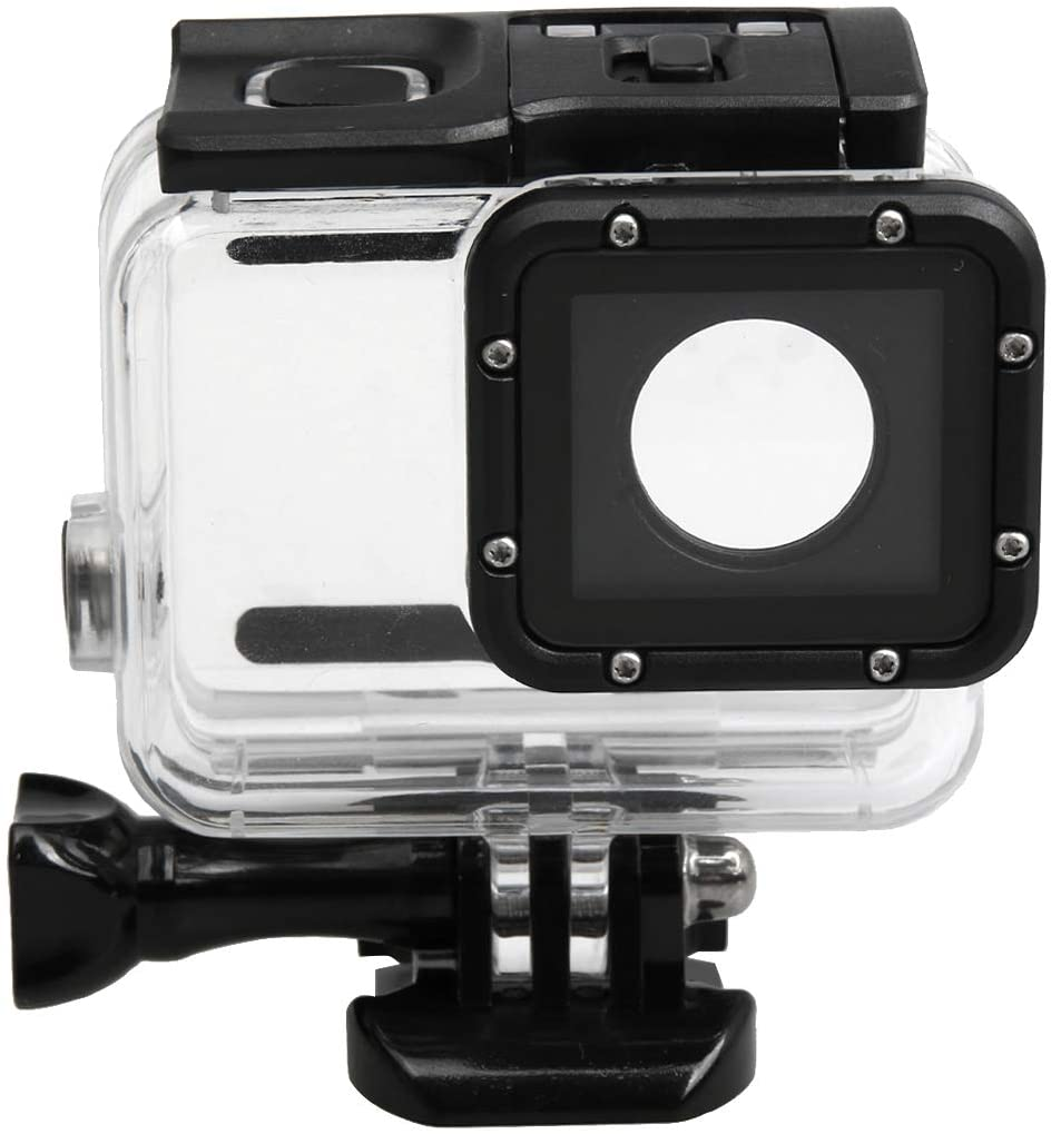Camera Accessories for GoPro HERO5 30m Waterproof PC & ABS Housing Protective Case + Touch Back Cover with Buckle Basic Mount & Long Screw, Backcover Size: 7 x 6 cm Protective Cases for Camera