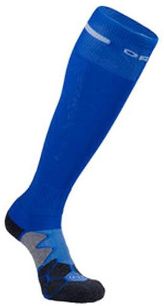 George Jimmy Outdoor Non-Slip Football Socks Blue Thickening Socks for Children