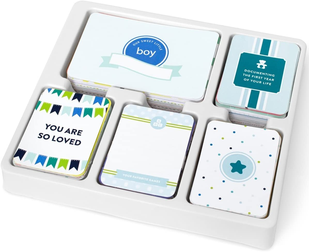 Project Life 380540 Kit Core Edition-Baby Boy (616 Piece), Blue, White, Green