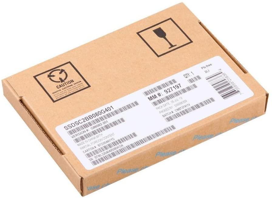 Intel SSDSC2BB600G401 600GB 2.5-Inch SATA Internal Solid State Drive (Renewed)