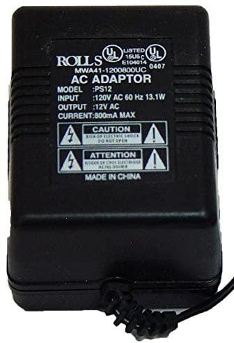 rolls V AC Power Adapter (PS12)