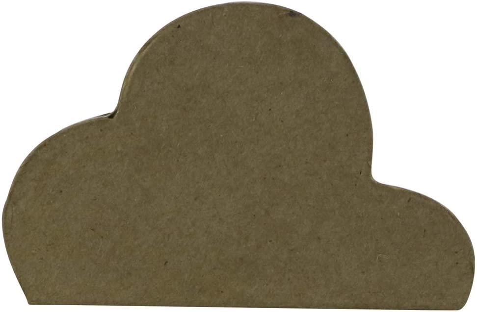 décopatch Decopatch Small Cloud Box, 5.5x9x3.5cm, 3.5 x 9 x 5.5 cm, Brown