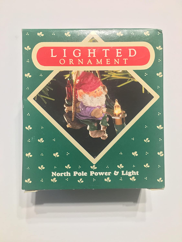 Hallmark Keepsake Ornament North Pole Power and Light 1987