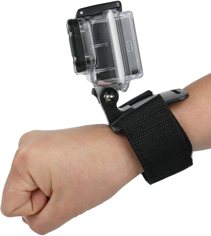 DURAGADGET Adjustable Wrist Strap Handle Mount Fastening - Compatible with Aokon Cam-S7-B