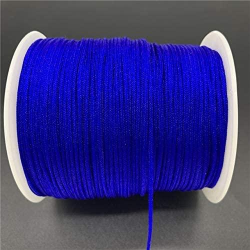 0.5/0.8/1.0/1.5mm Nylon Cord Thread Chinese Knot Macrame Cord Bracelet Braided String Tassels Beading for Shamballa Rope