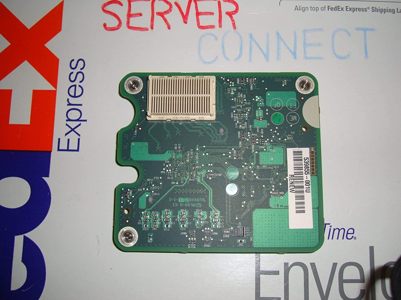 HP 610724-001 NC552m Flex Adapter Board, 10Gb Ethernet, Dual-Port (DP) (Renewed)