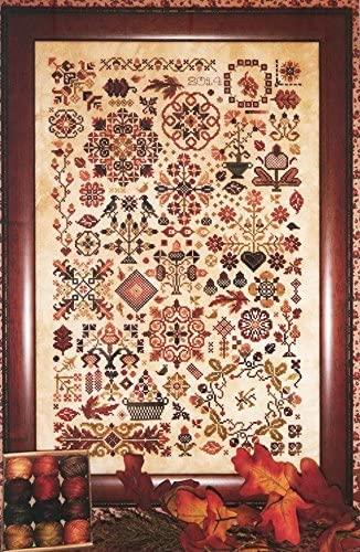 Autumn Quakers cross-stitch pattern - Rosewood Manor - Karen Kluba