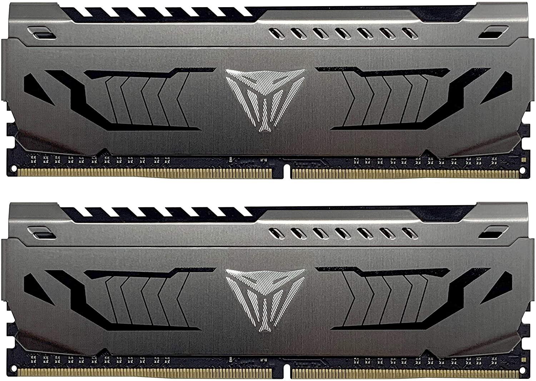 Patriot Viper Steel Series DDR4 16GB (2 x 8GB) 4400MHz Performance Memory Kit - PVS416G440C9K