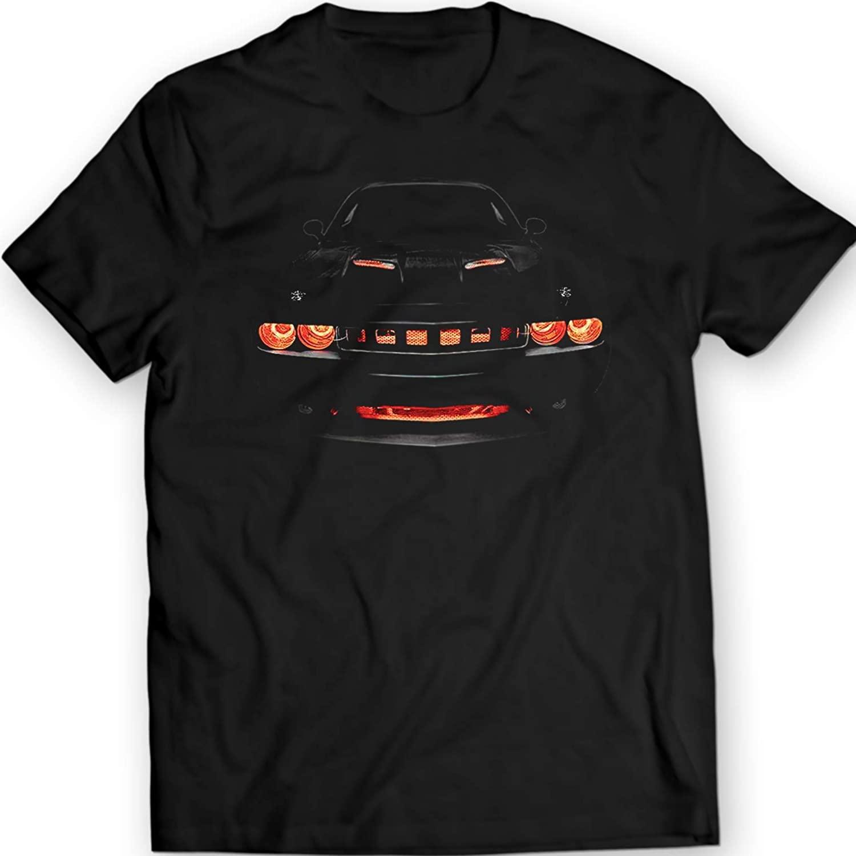 Challenger R/T Musclecar Auto Racing Car T-Shirt 100% Cotton