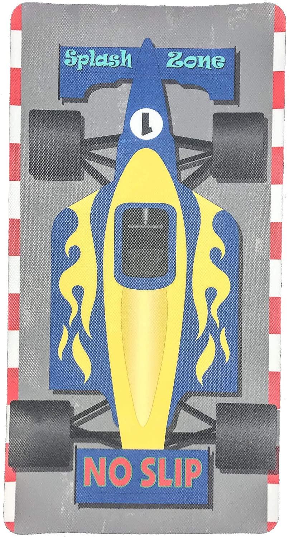 Kahuna Grip by VersaTraction Race Car 14x27 Kahuna Grip Bathmat