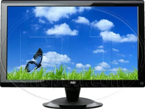 20IN Ws LCD 1600X900 60000:1 2036SA VGA Piano Blk 5MS Spk Dcr