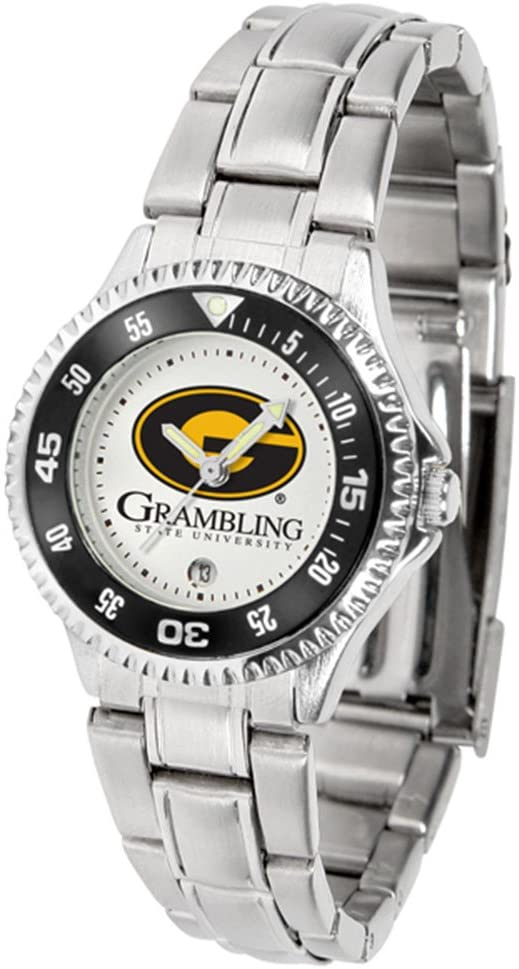 Grambling State Tigers Competitor Ladies Watch with Steel Band
