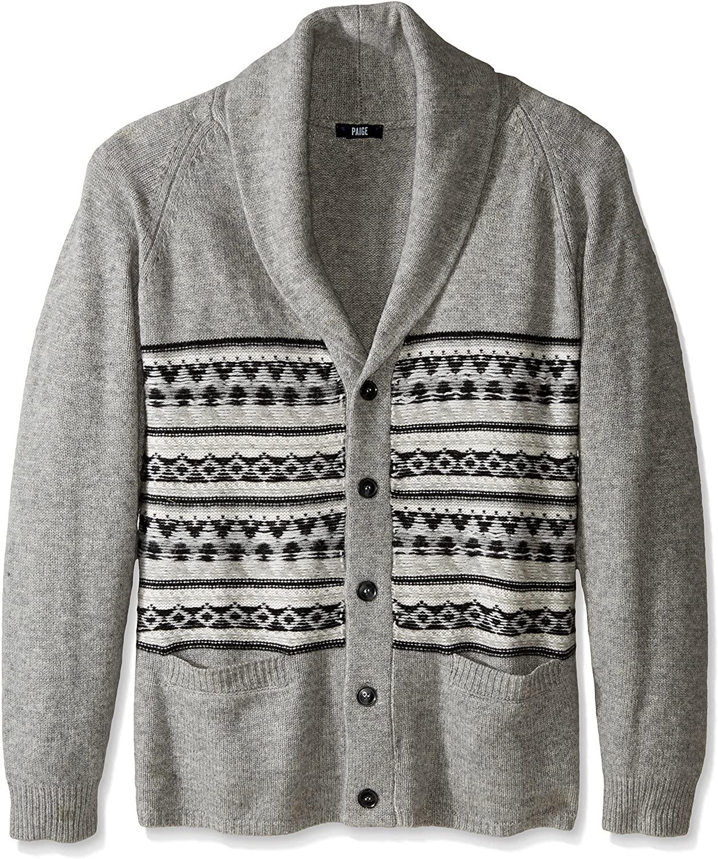 PAIGE Men's Jacob Cardigan Sweater