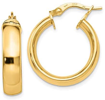 Leslie's 14K Polished Earrings